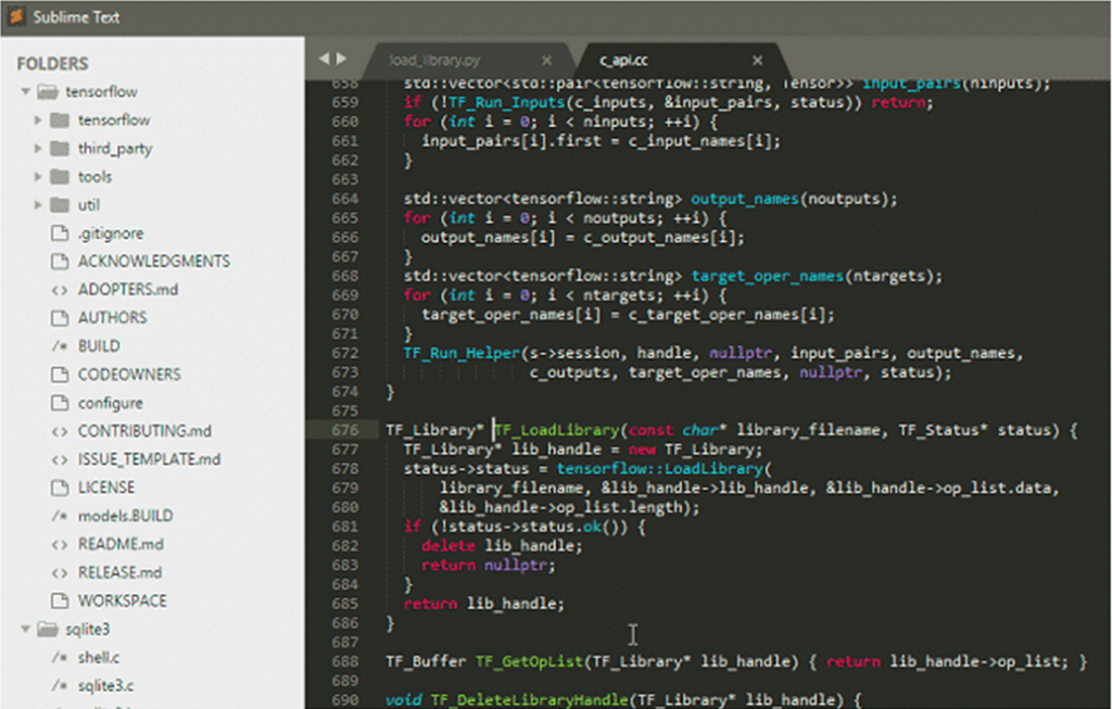 Sublime Text Editor For Programming